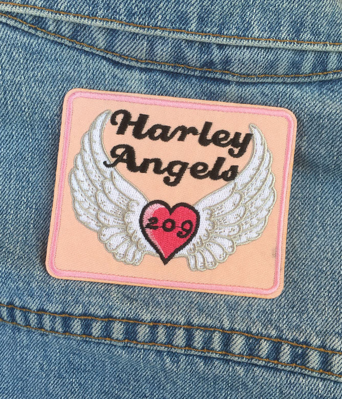 HARLEY ANGELS PATCH