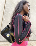 WILDFLOWER HANDBAG - BLACK