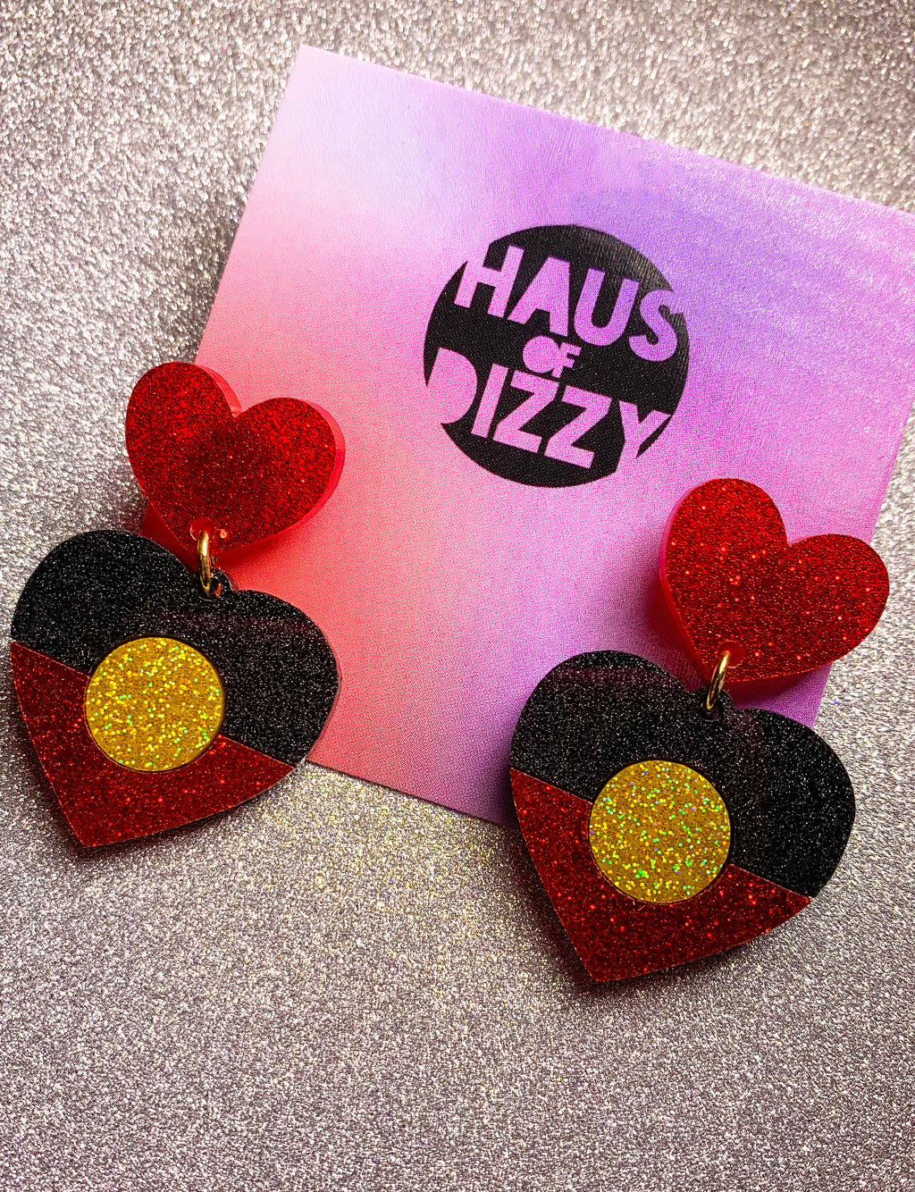 INDIGENOUS GLITTER STUD EARRINGS