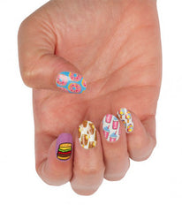 GREASY GLAMOUR NAIL WRAPS