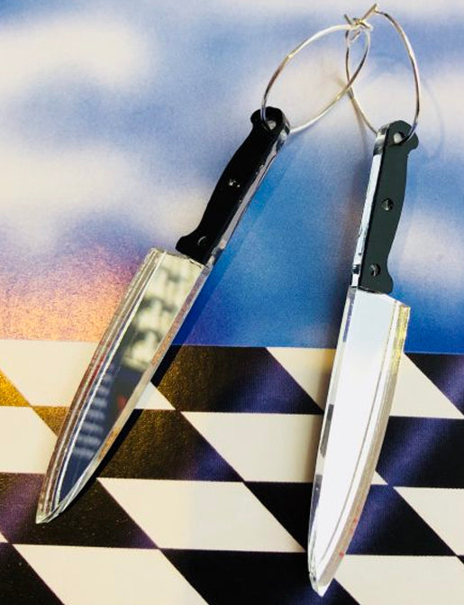 STABBY KNIFE EARRINGS