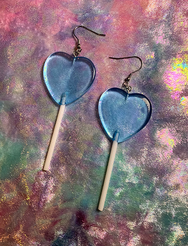 LOLLIPOP EARRINGS - BLUE *PRE ORDER*