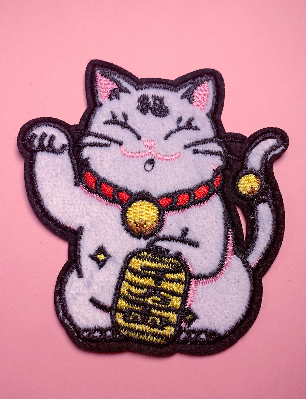 LUCKY KITTY PATCH