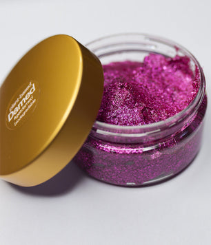 MAGENTA BIODEGRADABLE HAIR GLITTER GLUE