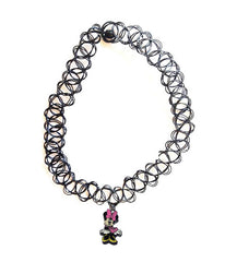 MINNIE MOUSE TATTOO CHOKER