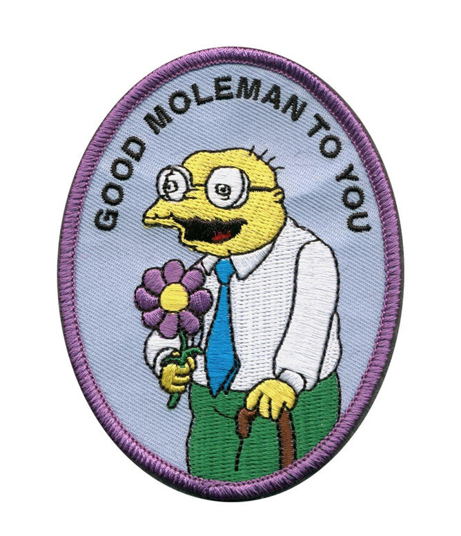 GOOD MOLEMAN IRON ON PATCH