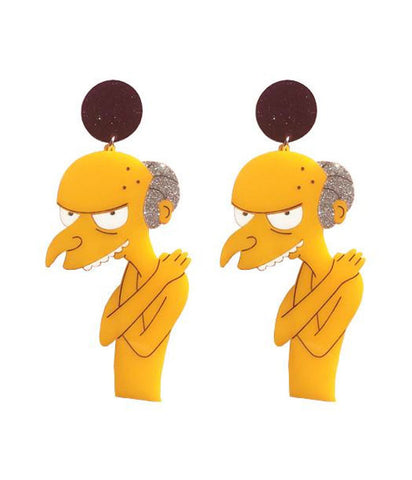 MR BURNS EARRINGS