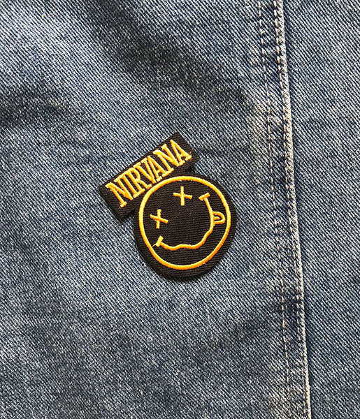 SMALL NIRVANA PATCH