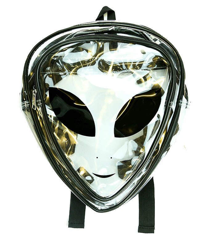 CLEAR NO SHAME ALIEN BACKPACK