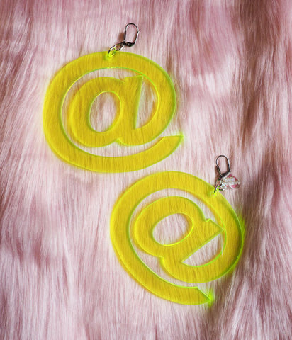 MARINA FINI @ SYMBOL EARRINGS