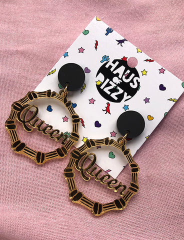 MINI BAMBOO QUEEN HOOPS