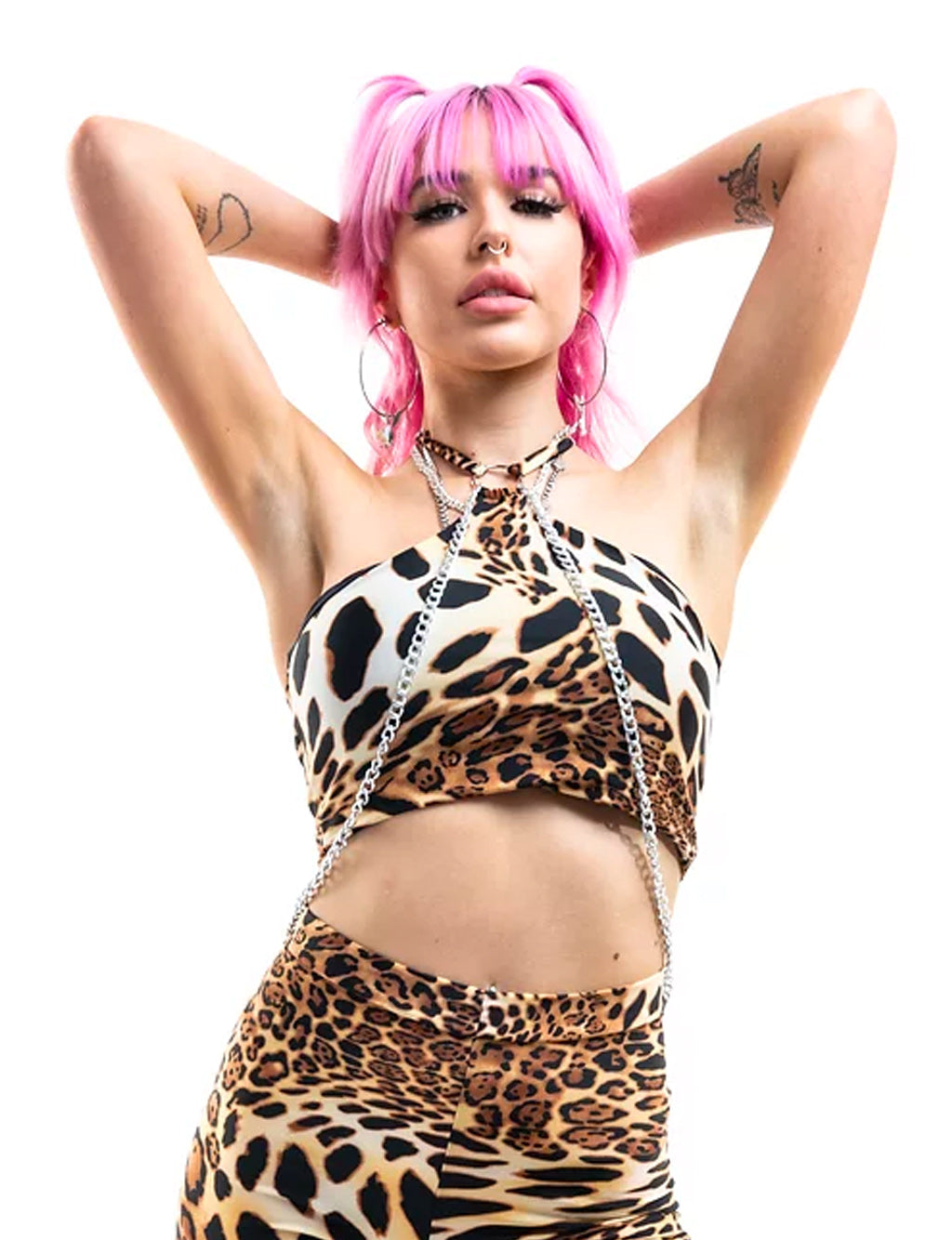 SASHA TOP 2.0 - QUEEN LEOPARD