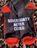 SOVEREIGNTY NEVER CEDED SOCKS