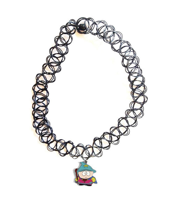 SOUTH PARK GANG PENDANT TATTOO CHOKERS