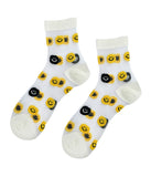 BE HAPPY SMILEY SOCKS