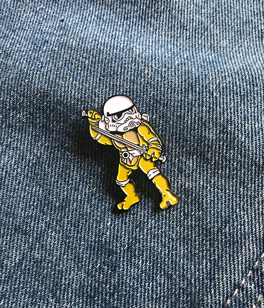 TEENAGE MUTANT NINJA TROOPER LAPEL PIN