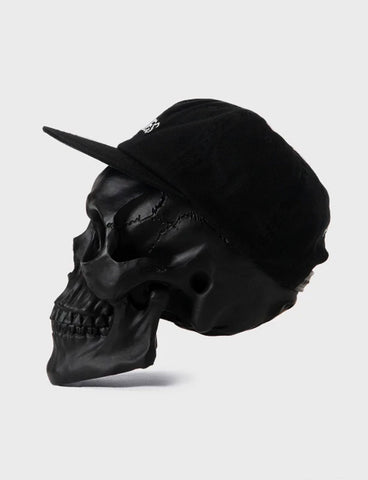 BONES CLUB UNSTRUCTURED CAP - BLACK