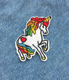 LAST UNICORN IRON ON PATCH
