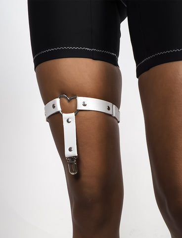 STRAPPED 4 LOVE LEG HARNESS - WHITE