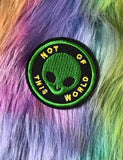 NOT OF THIS WORLD ALIEN PATCH
