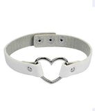 WHITE HOT HEART CHOKER