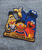 ALL TOGETHER NOW IRON ON PATCH
