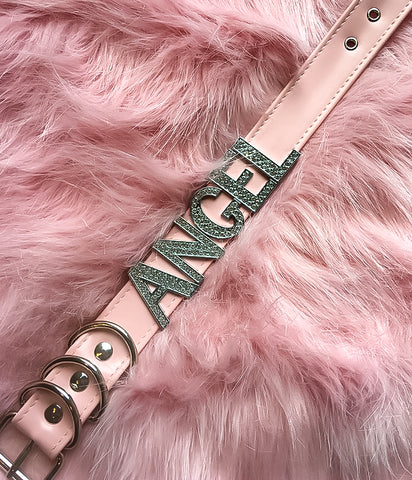 ANGEL DIAMONTE CHOKER - PINK