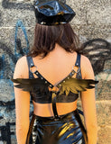 ANGEL WINGS HARNESS - BLACK