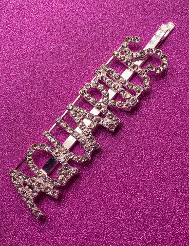 AQUARIUS DIAMONTE HAIR CLIP