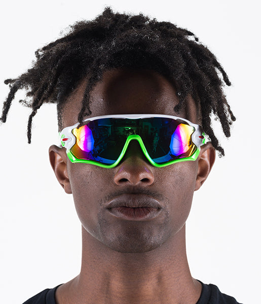 NEED 4 SPEED SHADES - WHITE & GREEN