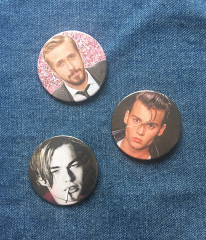 BABES ON SCREEN BADGES