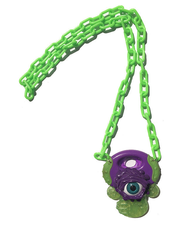 BABY GOT SLIMED NECKLACE