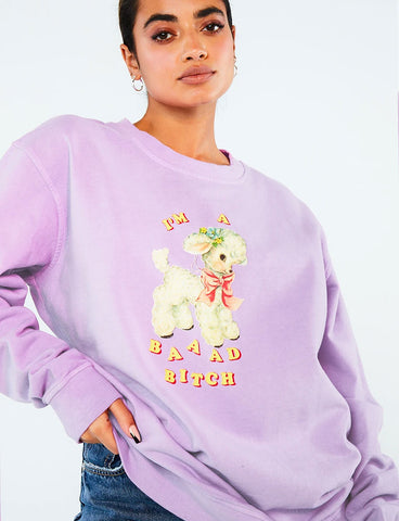 BAAAD BITCH SWEATSHIRT