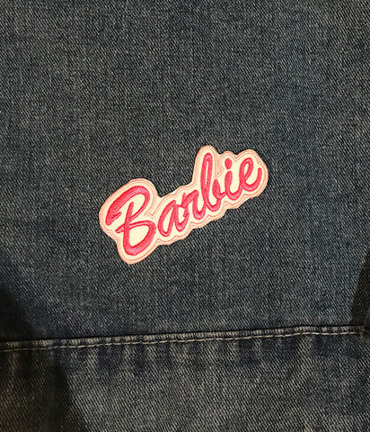 BARBIE GIRL IRON ON PATCH