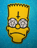 PENTAGRAM BART PATCH