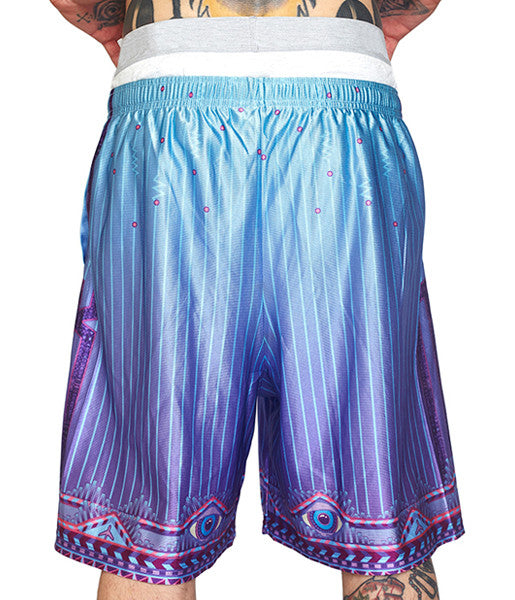 LOGIC LATTICE BBALL SHORTS