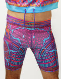 CRYPTIC FREQUENCY UNISEX BIKE SHORTS
