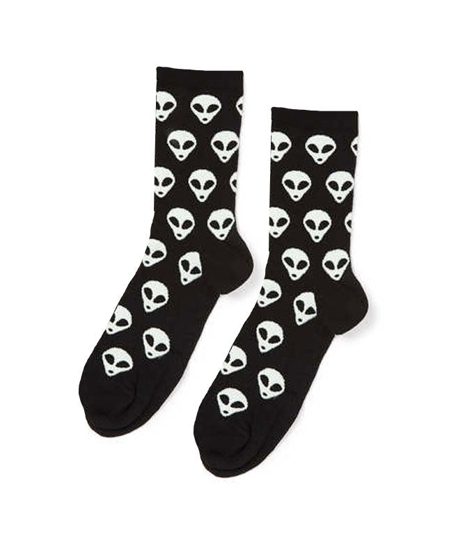 UFO SOCKS - BLACK