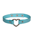 BLUE BLOOD HEART CHOKER