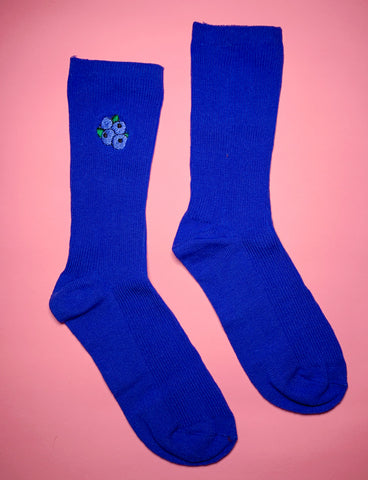 FEAST ON FRUIT SOCKS - BLUEBERRIES