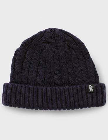 Fisherman Knit Beanie - Bluefish