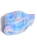 PASTEL DREAMS FUZZY HAT - BLUE