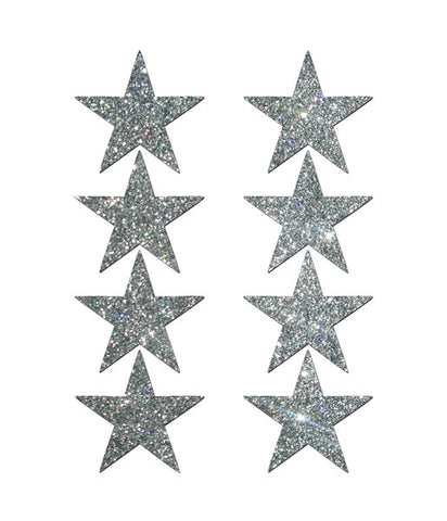 GLITTERING STAR BODY STICKERS