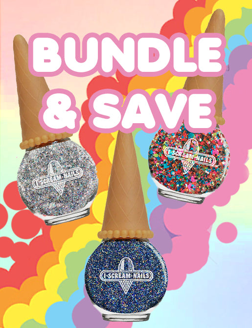 TIBBS & BONES x I SCREAM NAILS BUNDLE