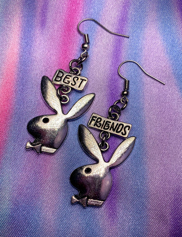 BEST FRIEND BUNNY EARRINGS