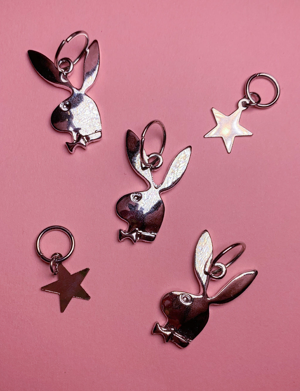 HAIR RINGS - BUNNYS & STARS