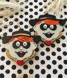 HAMBURGLAR EARRINGS