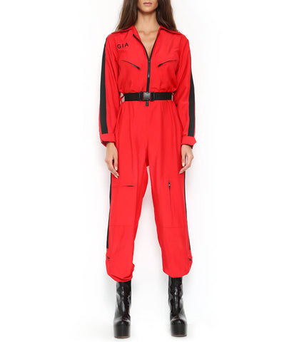 BURN BOILER SUIT 2.0 - RED