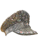 BURNER SEQUIN FESTIVAL HAT - SILVER/WHITE