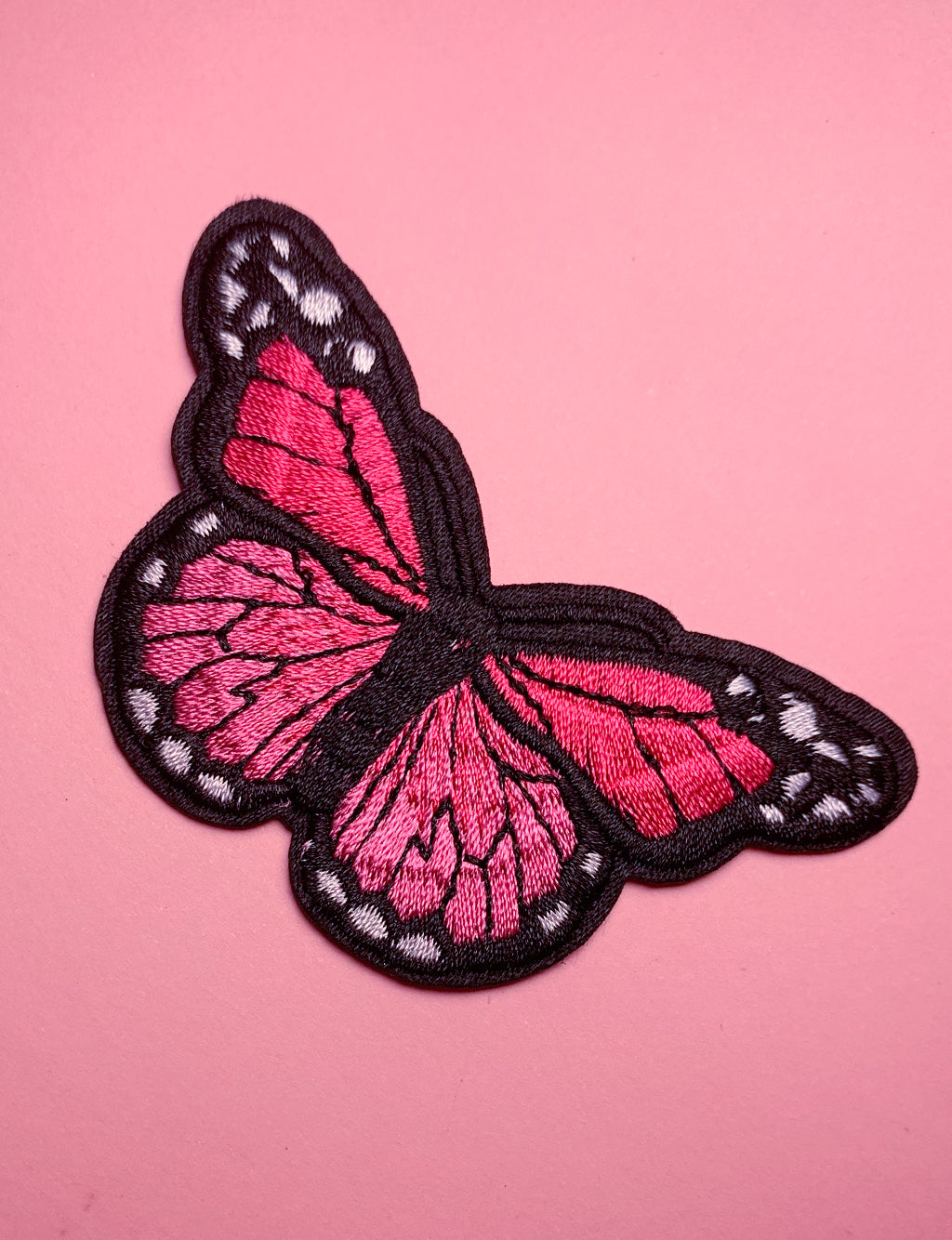 BEAUTIFUL BUTTERFLY PATCH - PINK